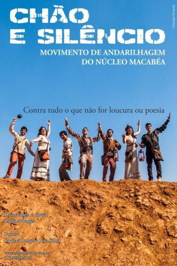 Chão e silêncio, montagem teatral do Núcleo Macabéa com dramaturgia de Rudinei Borges