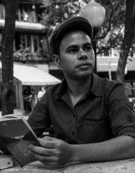 O dramaturgo e poeta Rudinei Borges