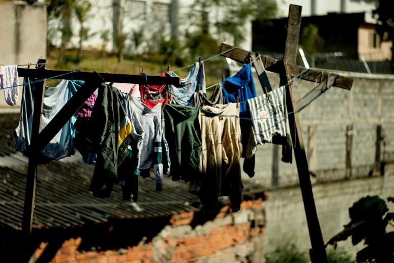 A pequena Favela do Boqueirão, onde o Núcleo Macabéa iniciou residência artística em 2011